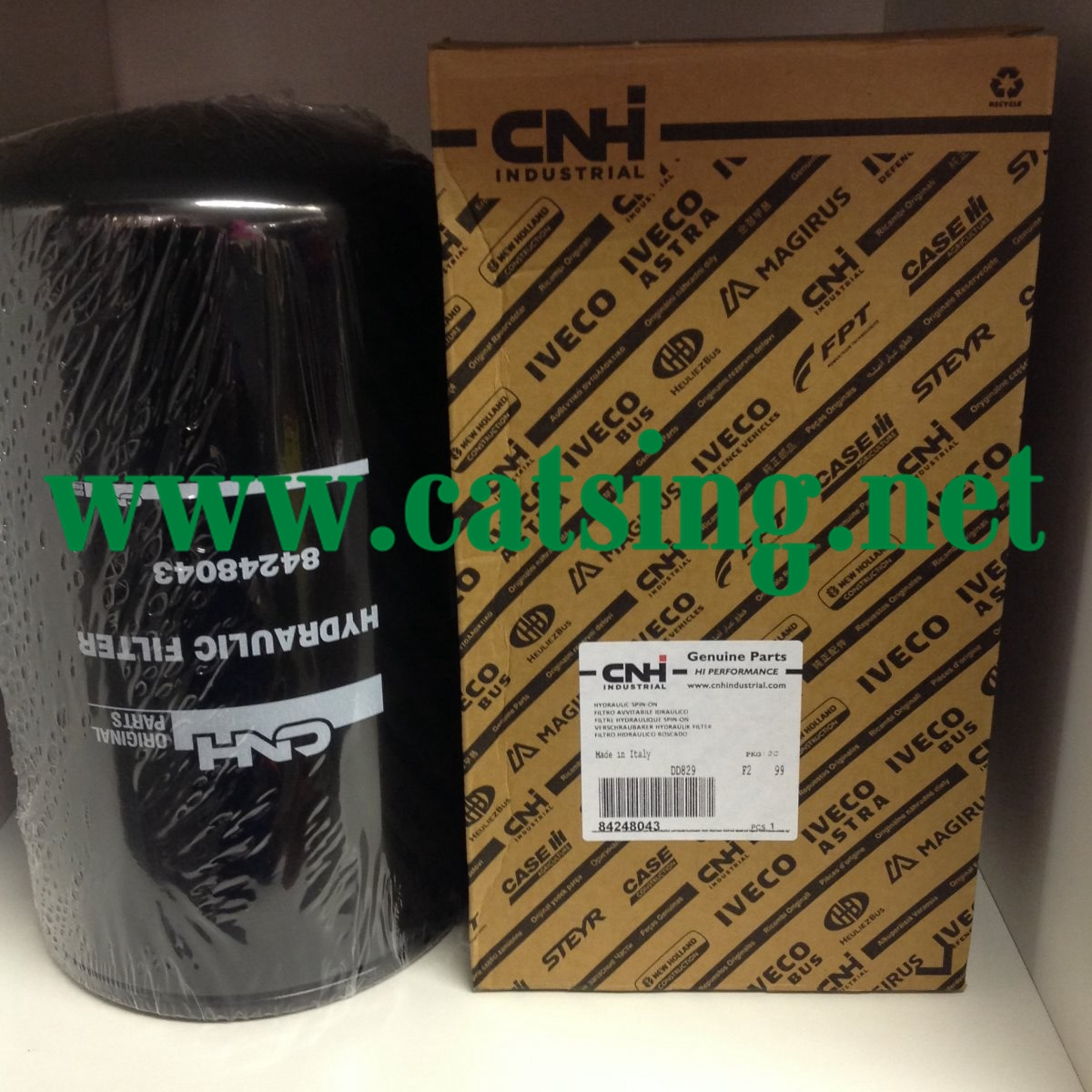 NEW HOLLAND HYDRAULIC FILTER 84248043
